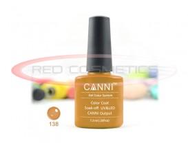 Oja Semipermanenta Light Brown 138 - Canni
