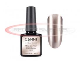Oja Semipermanenta Efect Metalic C705 - Canni