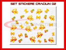 Stickere Model Craciun XF367