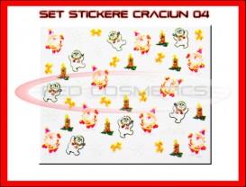Stickere Model Craciun XF379