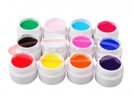 Set 12 Geluri Colorate - GD Coco
